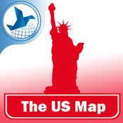 美国离线地图
