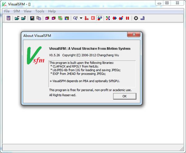VisualSFM