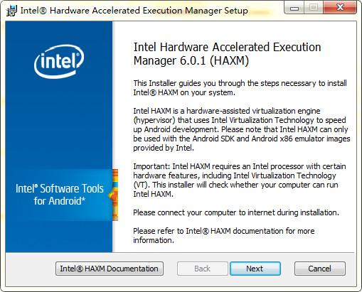 haxm installer