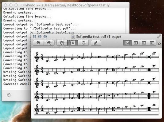 乐谱排版软件(lilypond)