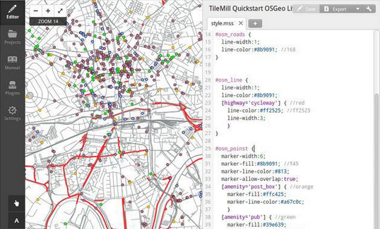 TileMill地图绘制软件