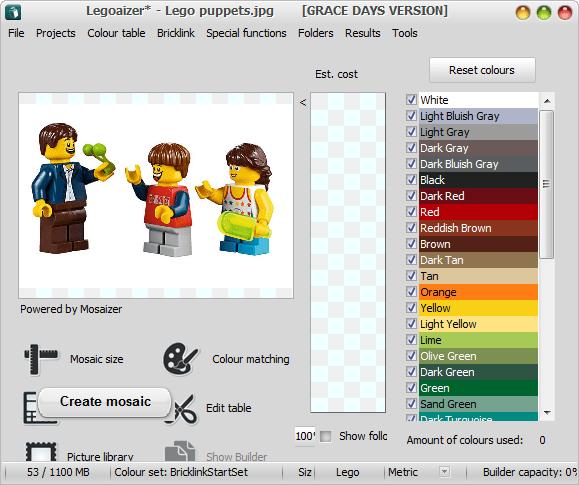 Legoaizer