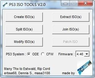 PS3 ISO TOOLS
