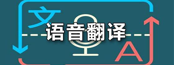 语音翻译软件
