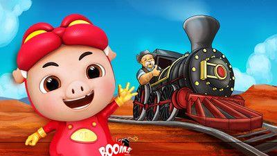 猪猪侠开火车_图片1