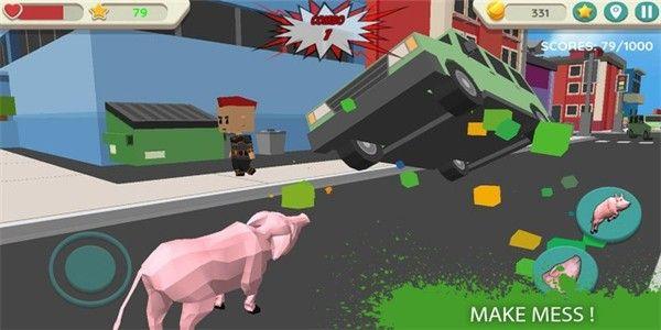 疯狂的猪模拟_图片3