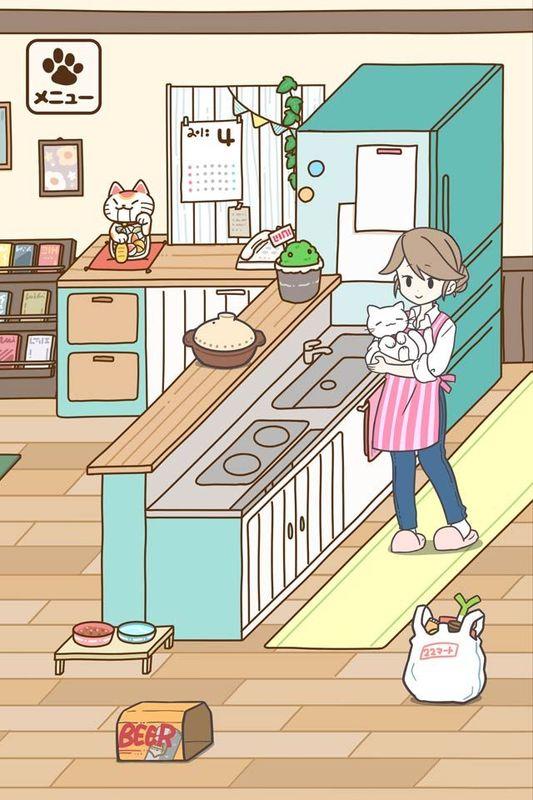 饲养猫咪的生活_图片2