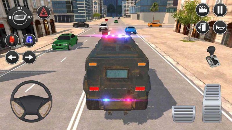美国警车驾驶_图片1