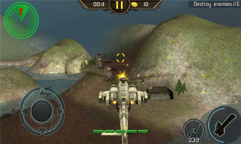 直升机空袭3D_图片2