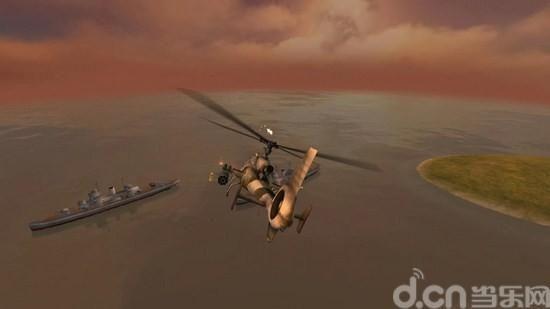 炮艇战3D直升机_图片2