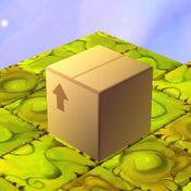 滚动的纸箱