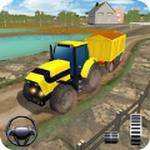 拖拉机牵引作业模拟
