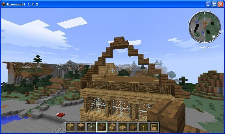 我的世界教你造漂亮的别墅