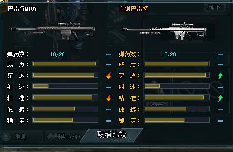 4399生死狙击狙击之王-巴雷特m107测评