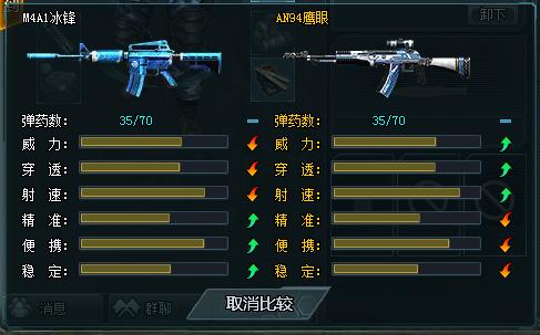 4399生死狙击m4a1冰峰