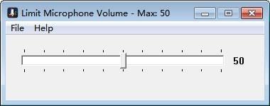 Limit Microphone Volume