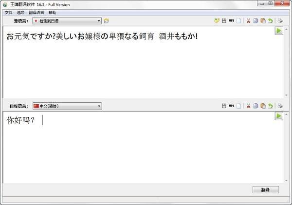 王牌翻译软件