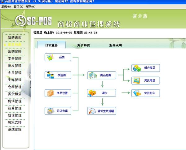 南京商超商业管理系统