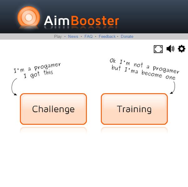 鼠标定位游戏(aimbooster)