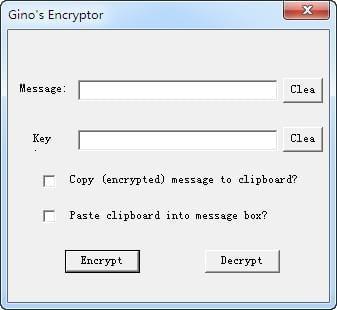 Ginos Encryptor