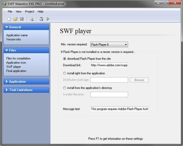 SWF Maestro EXE Pro