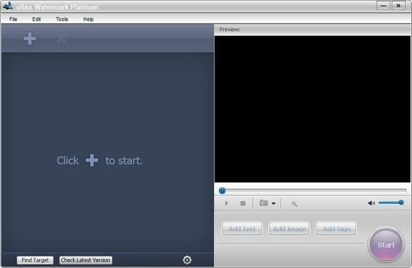 uRex Videomark Plat