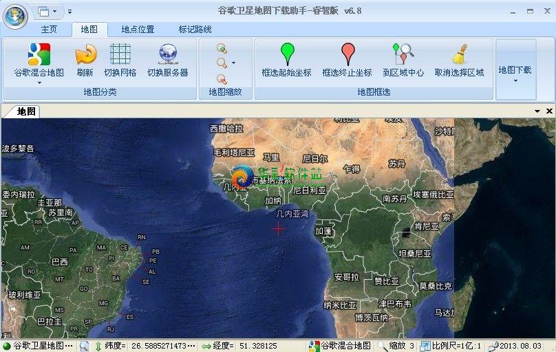 欣思维谷歌地图下载助手